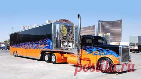 Картинка Truck Peterbilt / Грузовик Петербилт » Грузовики » Автомобили » Картинки 24 - скачать картинки бесплатно