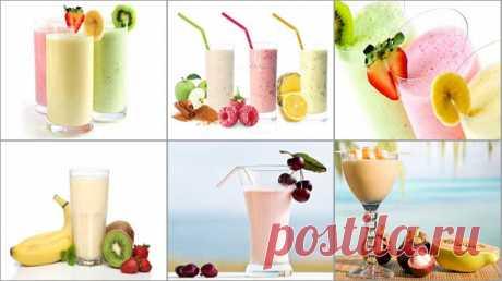 Полезные коктейли - белковые, фруктово-ягодные, овощные... Полезные коктейли можно приготовить из огромного набора продуктов: молочных, фруктов, овощей и ягод. Кроме полезности, они еще и очень вкусные.