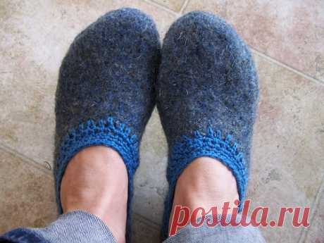 Slippers \/ Simple patterns \/ Second Street