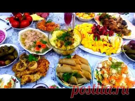 Готовлю ПАСХАЛЬНОЕ МЕНЮ 10 блюд Которые Стоит Приготовить на Пасху! ПРАЗДНИЧНЫЙ СТОЛ .