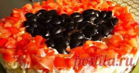 Салат «Коварство и любовь»... Блюдо № 1 на моем новогоднем столе!