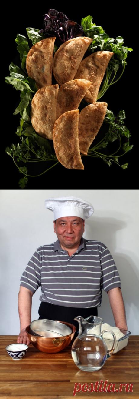 Крымские чебуреки от Сталика Ханкишиева : мастер-класс | Четыре вкуса