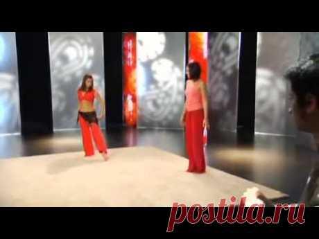 Восточный танец с Валерией Путицкой для начинающих. Урок 1 - YouTube