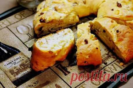 Луково-ореховый хлеб — рецепт с пошаговыми фото. Foodclub.ru