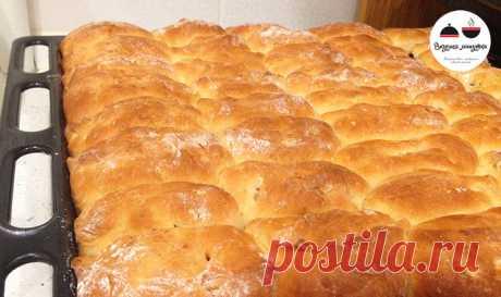 Сдобное дрожжевое тесто без заморочек! Тесто для вкусных духовых пирожков Sweet yeast dough