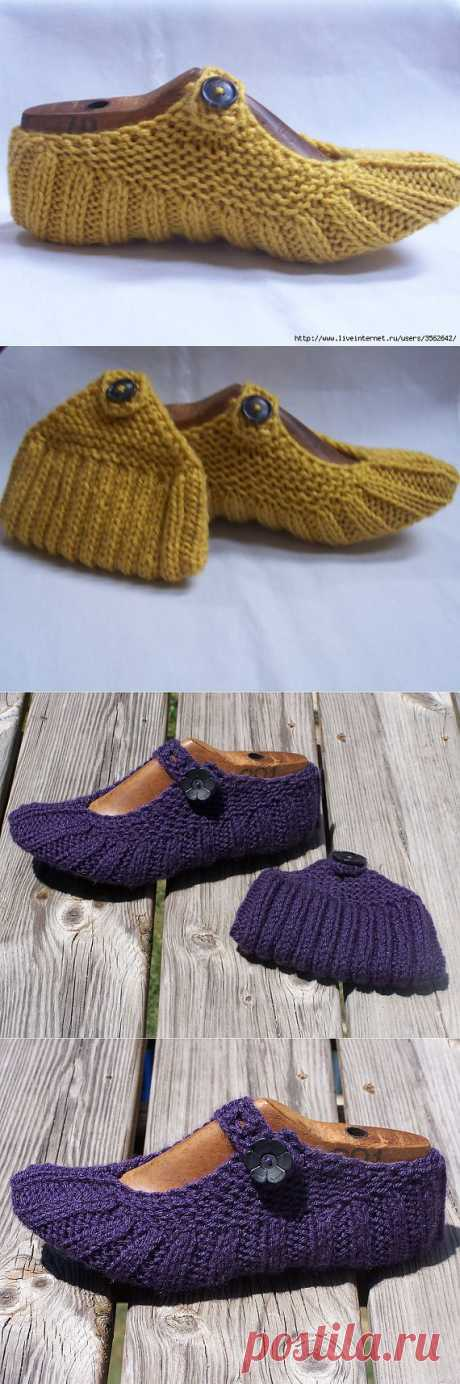Следочки-туфельки..