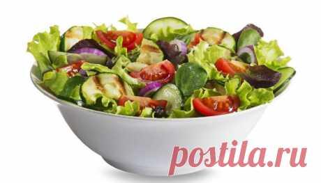 Салаты для похудения - лучшие рецепты и полезные советы