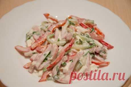 Низкокалорийные салаты с мясом: лучшие рецепты