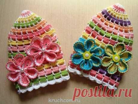 Радужные шапочки.