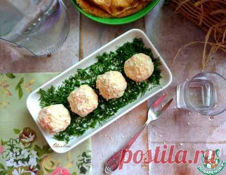 Закусочные морковные шарики с творожным сыром – кулинарный рецепт