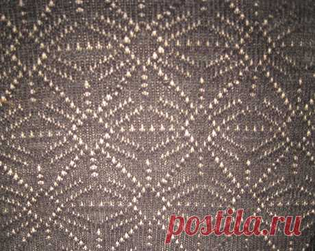 Вяжем ложный ажур (панчлейс, punch lace, ажур без деккеровки) на Silver Reed / Вязание