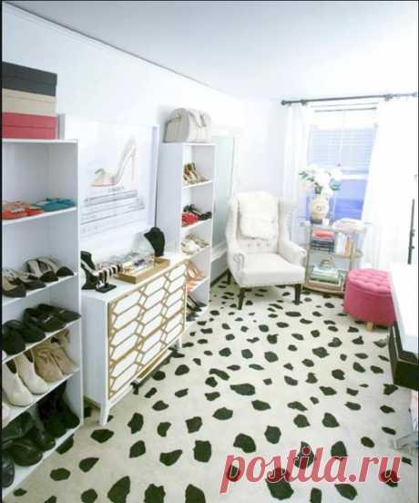Отдельная гардеробная - это мечта!