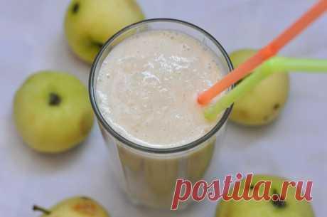 Вечерний яблочный коктейль с кефиром. Худеем вкусно! - Советы для женщин
