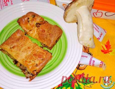Пирог грибной – кулинарный рецепт