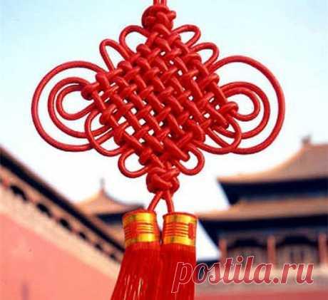 Китайский узел счастья — Сделай сам, идеи для творчества - DIY Ideas