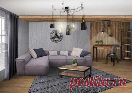 Выбор дивана для обустройства однокомнатной квартиры