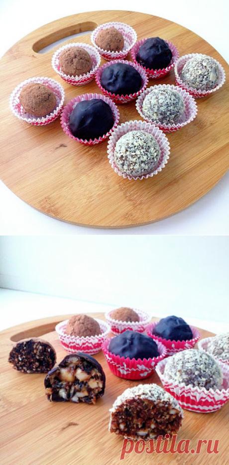 Сладости и радости: Конфетки из сухофруктов (три вида)