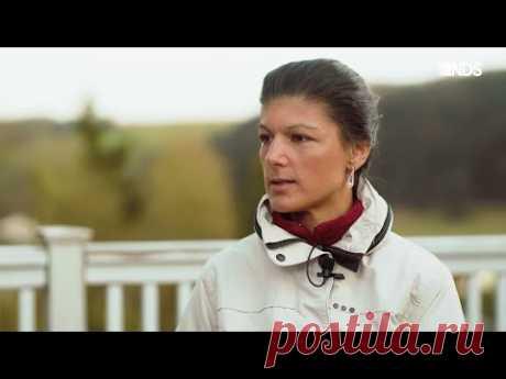Сара Вагенкнехт о НАТО, США и Путине [Голос Германии]