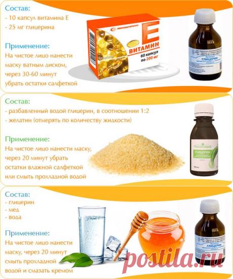 Глицерин + Витамин Е Волшебное средство для кожи!