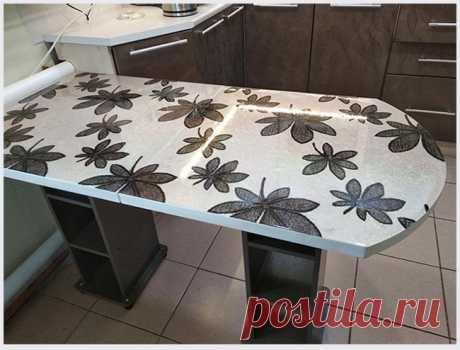 Обновляем кухонный стол   Идеи домашнего мастера