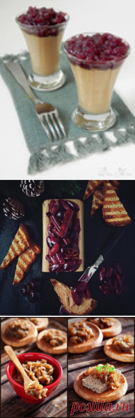 Паштет из куриной печени с луковым мармеладом