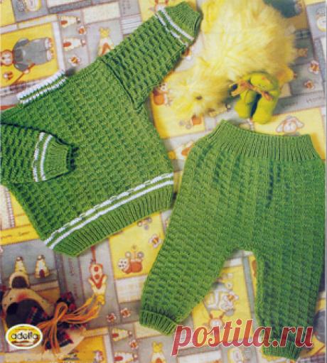 Свитер для малыша спицами схема фото 632