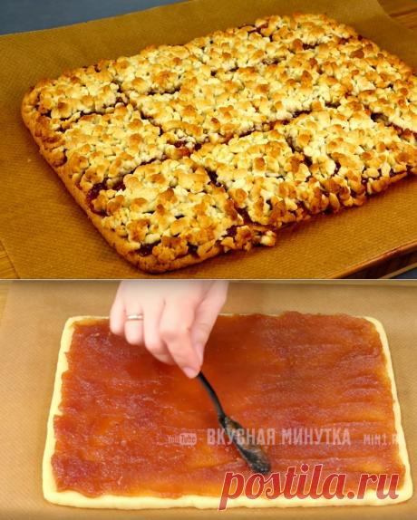 Знаменитый тёртый пирог: меняя начинки, можно готовить хоть каждый день