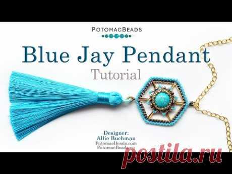 Blue Jay Pendant - DIY Jewelry Making Tutorial
