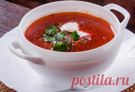 Борщ «Северный», аппетитный, красивый, вкусный!   вкусный блог   Яндекс Дзен