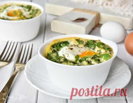 Кавказская яичница кюкю, пошаговый рецепт на 856 ккал, фото, ингредиенты - gapapolya
