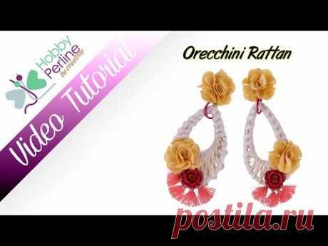 Orecchini Rattan | TUTORIAL - HobbyPerline.com