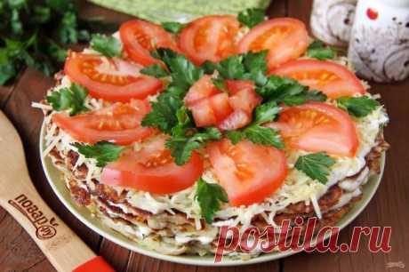 Овощной торт - пошаговый рецепт с фото на Повар.ру