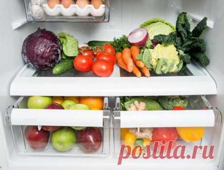 Наводим порядок в холодильнике — Мой дом
