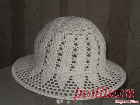 Шляпка беж крючком - Вязание - Страна Мам