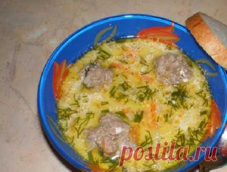 Сырный суп с фрикадельками: пошаговый рецепт с фото и видео, вкусно и быстро