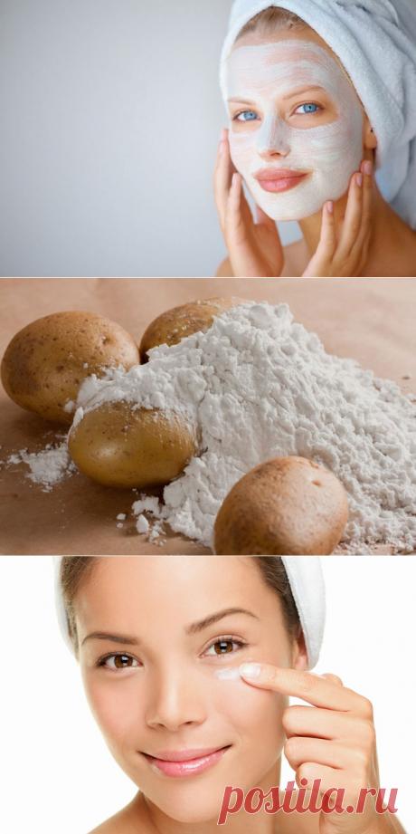 Крахмальные маски для лица — Делимся советами