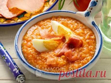 Сальморехо — рецепт с фото Сальморехо - и суп, и соус. Родственник и гаспачо, и сальсе. Хорош и в жару, и в холод.