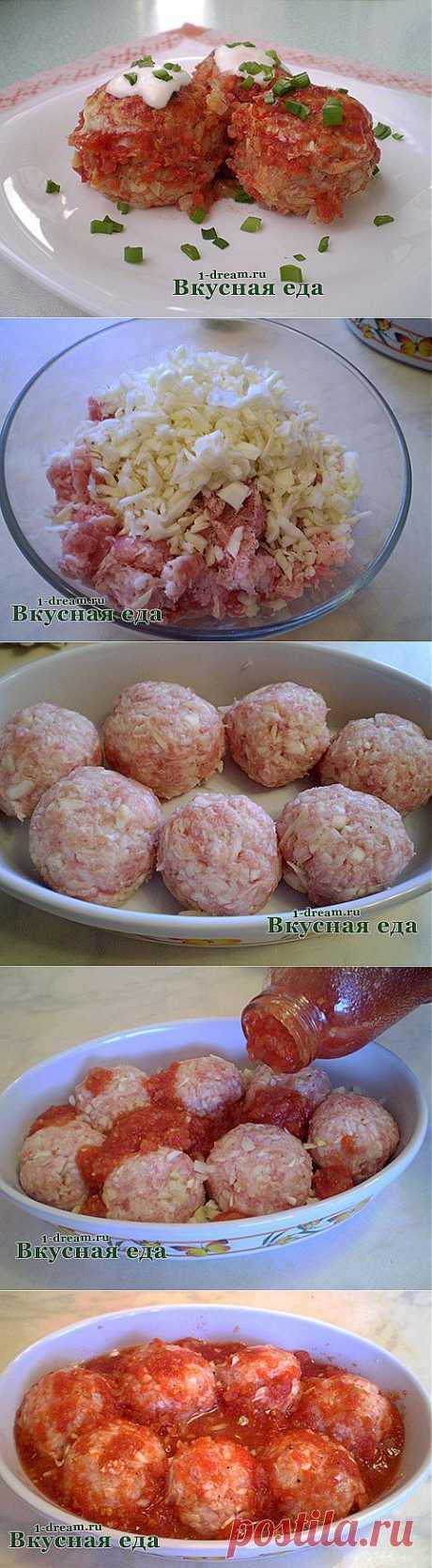 Голубцы ленивые в духовке - рецепт приготовления ленивых голубцов с фаршем - Вкусная еда