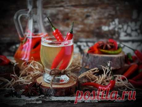 Hot degree: drinks which heat strong