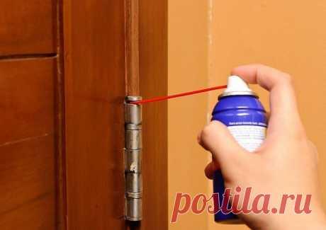 Копеечное средство от скрипа дверных петель, которое можно найти в шкафчике на кухне - Квартира, дом, дача - медиаплатформа МирТесен
