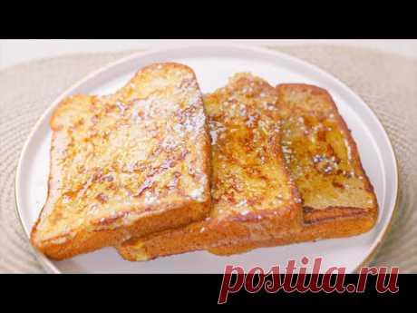 Приготовление французских тостов, как на завтрак в отеле l Приготовление тостов