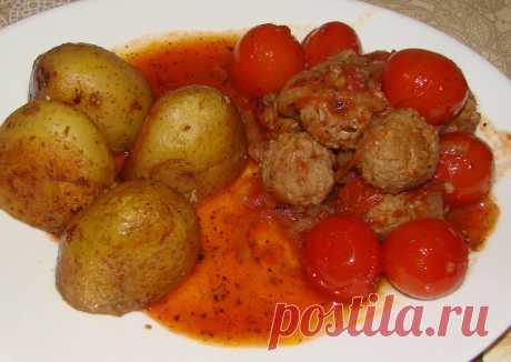 Тефтельки в томатном соусе за 30 минут | Блоги о даче и огороде, рецептах, красоте и правильном питании, рыбалке, ремонте и интерьере