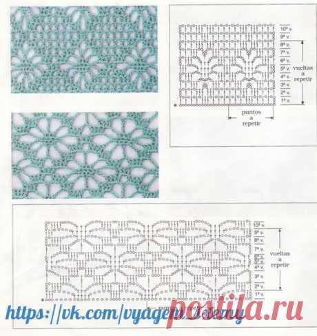 Схемы вязания, крючком