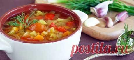 3 супа, которые эффективно помогают похудеть;)) | Диеты со всего света