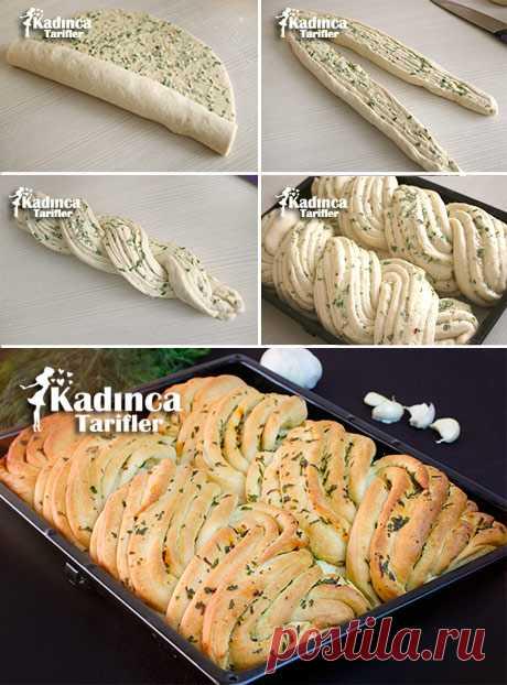 Рецепт для чесночного хлеба   Женственная Рецепты   Легко и вкусные рецепты сайта - Октай Уста
