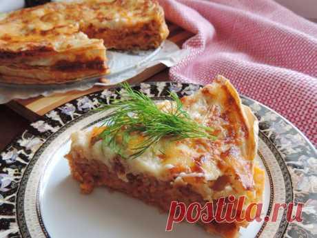 Лазанья на лаваше - пошаговый рецепт с фото - как приготовить, ингредиенты, состав, время приготовления - Леди Mail.Ru