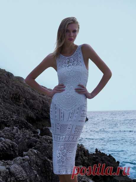 Возьмите на заметку-вязаные платья на лето от Giovan Dias! Шикарно!