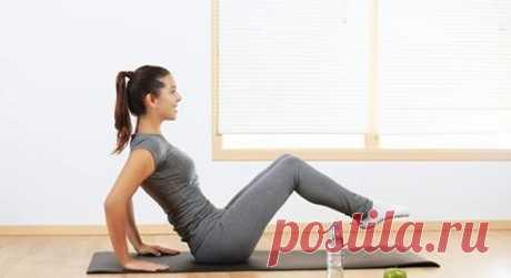 Простые упражнения, благодаря которым быстро убирается живот