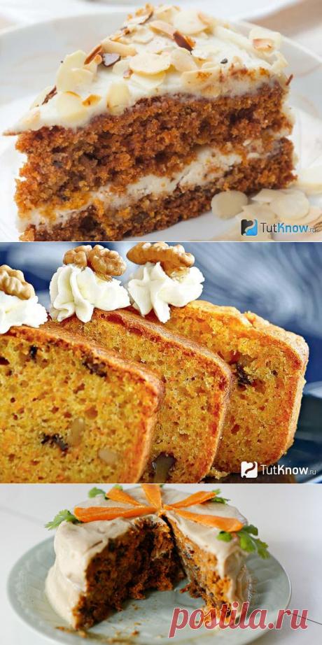 Морковный пирог в духовке. Быстрый и простой сладкий пирог с морковью