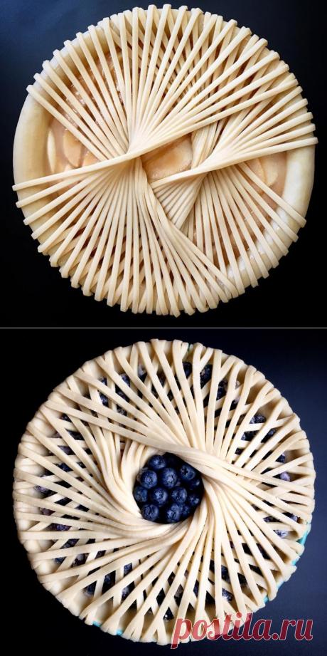 Украшения пирога своими руками: идеи и фото - Выпечка - Smak